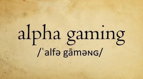 alpha-gaming